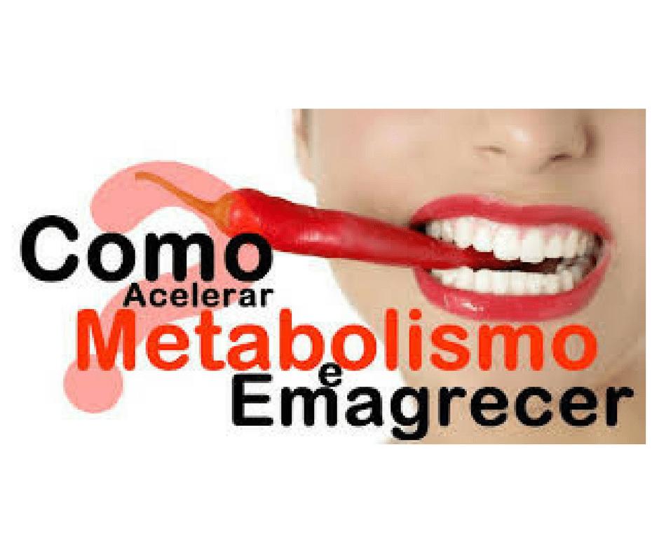 acelerar metabolismo emagrecer